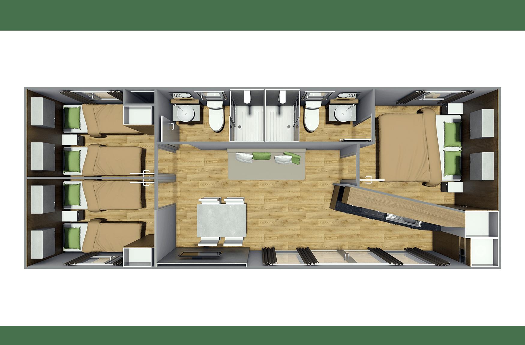Sunshine Mobile Homes >> Cr Abitare Mobile Homes Sky Series